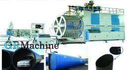 Линия для производства двухстенных труб большого диаметра из PE (ПНД) методом навивки