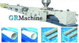 Линии для производства жесткой гладкостенной трубы из ПВХ