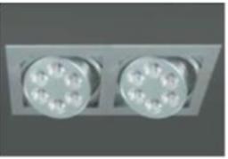 Светодиодный светильник DL18363/02WW