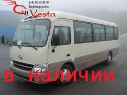 В наличии:Автобусы Hyundai County 29 мест DLX 2013 года.
