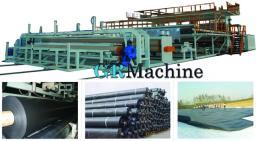 Линия для производства геомембраны из HDPE LDPE PVC