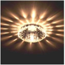 Светильник хрустальный DL046CH/Crystal