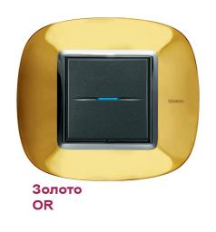 Рамка Bticino HB4802OR1 Золото - OR