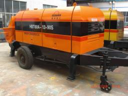 Бетононасос стационарный дизельный DEBOOM 50 м3/час