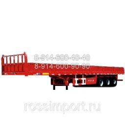 Полуприцеп бортовой CIMC 60 тонн
