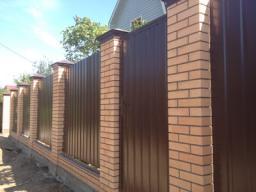 Забор из профнастила С 8