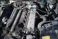 Двигатель бу на Audi 80. Модель SB, объем 1.6л TD