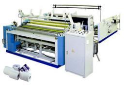 Полуавтоматическое оборудование для производства туалетной бумаги