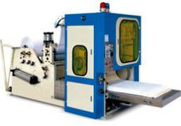 Станок для производства салфеток для диспенсеров с клеевым узлом (Z-сложение) HCS-3L