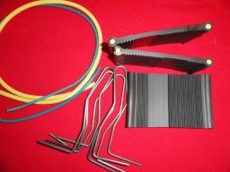 Внутренняя Гидрошпонка LITAPROOF для рабочих швов HVS-120, комбинированная бентонитовым шнуром