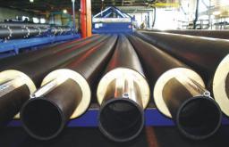 Предизолированные трубы ППУ для водоснабжения