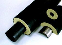 Трубы с тепловой изоляцией из пенополиуретана (ППУ) в полиэтиленовой (ПЭ) защитной оболочке