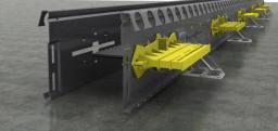 Несъемная опалубка Metalscreed для устройства прочных и долговечных бетонных полов и оснований