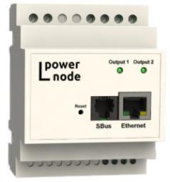 LPowerNode 2DIN RTC AC - устройство управления электропитанием по Ethernet
