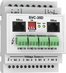 SVC-35D - модуль контроля наличия напряжения с возможностью работы по ModBus