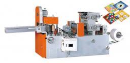 Двухцветной автоматический станок для производства столовых салфеток серии CWH