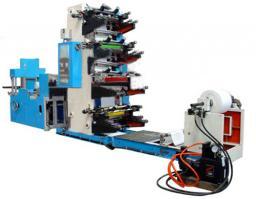 Четырех-шестицветной станок для производства салфеток с полноцветной печатью WQZ