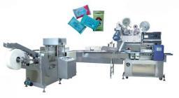 Полуавтоматическая машина для производства и упаковки влажных салфеток (5-30 штук в упаковке) HM-200