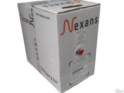 Кабель витая пара U/UTP Outdoor 4p,cat 5e, PVC Nexans