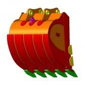 Усиленный ковш для экскаватора (HD)