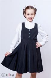 сарафан для школы от компании Швейное предприятие ЛИВА в Москве