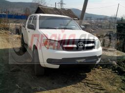 Автовинил для Toyota Hilux White