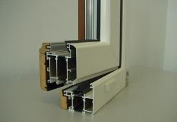 Дерево-алюминиевые окна NEW TEC WOOD Краснодар