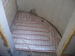 Подложка для теплого пола из резистивного кабеля