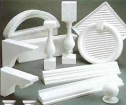 Элементы декора из пенопласта