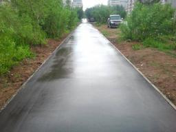 Асфальтирование тротуаров