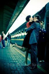 Встреча с железнодорожного вокзала