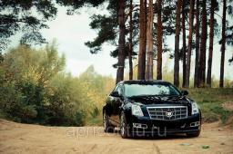Cadillac CTS, черный цвет 2009 г.в.