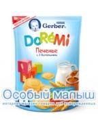 Гербер Печенье DoReMi, с 12 мес 180 г.