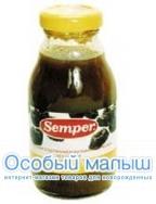 Сэмпер Чернослив нектар с 4 мес., 200 г.