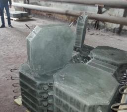 Плиты укрепления откосов насыпи П-1М серия 3.501.1-156