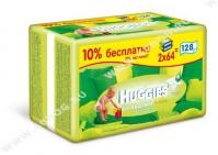 Huggies Влажные салфетки Ultra Comfort с алоэ 128 шт