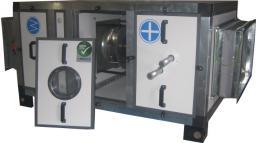 Приточно-вытяжная установка с роторным рекуператором