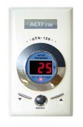 Терморегулятор UTH-120 накладной, механическое управление