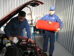 Установка газового оборудования ГБО в Казани