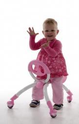 Ходунки-каталка Y Bike (ё-байк) Pewi, 2-в-1, арт. YPIW2, цвет: розовый
