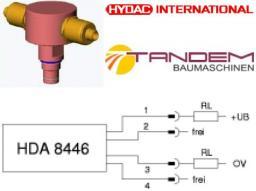 Датчик давления Hydac HDA8446-A0400-000