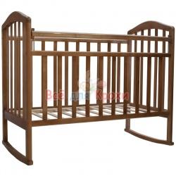 Детская кроватка Антел Алита 2 орех