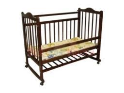Детская кроватка Ивашка 10 Тёмная