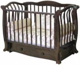 Кроватка детская Аэлита С-888 шоколад