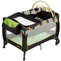 Манеж-кровать Evenflo Baby Suite