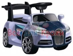 Электромобиль Bugatti Jetem белый