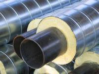 Труба стальная в ППУ изоляции D=820 мм