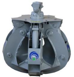 Грейфер для металлолома PFO-5/250 с гидравлическим ротатором