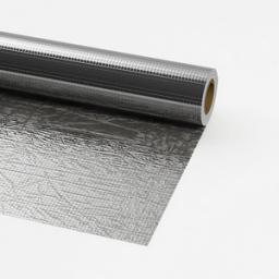 ОЛЕФОЛ ФПСПФ - стеклосетка, расположенная между двумя слоями алюминиевой фольги с полиэтиленовым покрытием