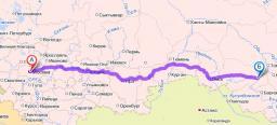 доставка сборных грузов по ж/д Москва-Новосибирск